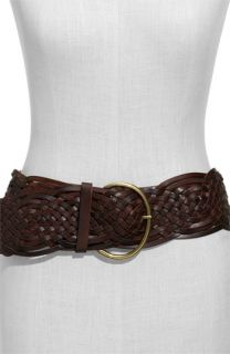 Tarnish Braided Leather Belt