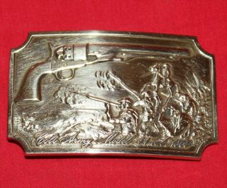 Colt Firearms Factory 1860 Army Belt Buckle