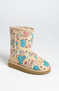 UGG® Australia Classic Short   Graffiti Boot (Walker & Toddler)