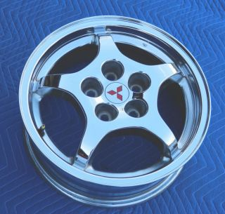 MITSUBISHI ECLIPSE GST Chrome Alloy Rim WHEEL 16 Genuine OEM MINT Cond