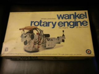 VINTAGE WANKEL ROTARY ENGINE MODEL KIT