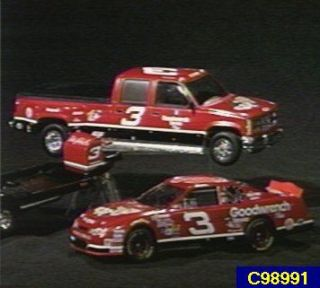 Dale Earnhardt Taz 124 Scale 3pc Trackside Die cast Set —
