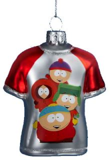 South Park Comedy Central T Shirt Tee Shirt Glass Holiday Christmas