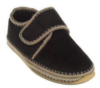 Deer Stags SLIPPEROOZ Indoor/Outdoor Hook & Loop Top Slippers   A73660