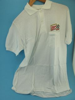 Vintage NHRA Drag Racing Pit Crew Polo Shirt Cory Lee
