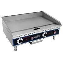 Commercial Pro 24 Countertop Electric Grill Griddle