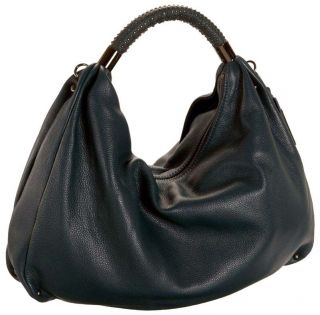 New Kenneth Cole New York Handbag Purse No Slouch Medium Leather Hobo