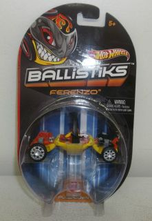 2012 Mattel Hot Wheels Ballistiks Ferenzo Diecast Car Vehicle