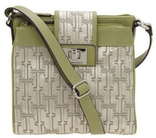 Tignanello Signature Print Crossbody Bag with Adjustable Strap