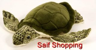 Plush Soft Stuffed Animal Sea Turtle Tortoise shell 10 (25 cm