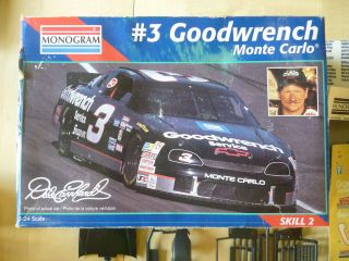 Dale Earnhardt #3 Goodwrench Chevy Monte Carlo Monogram Car Model Kit