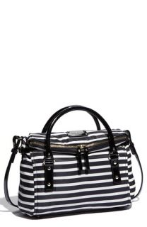 kate spade new york small leslie nylon satchel