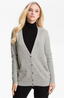 Collection Mix Knit Cashmere Cardigan