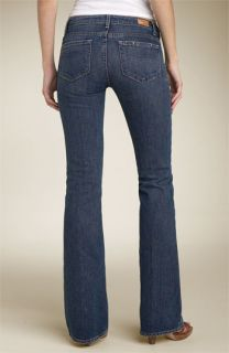 Paige Hollywood Hills Bootcut Stretch Jeans (Dark Clean Wash)