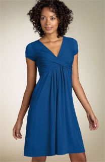Nicole Miller Cap Sleeve Stretch Rayon Jersey Dress