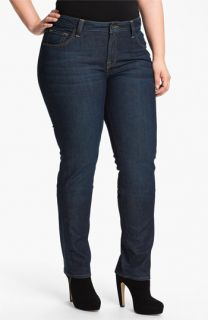 Lucky Brand Ginger Straight Denim Jeans (Plus)