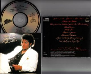 MICHAEL JACKSON  THRILLER CD (1983 Japan Press NO BARCODE Rare Matrix