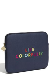 kate spade new york live colorfully iPad sleeve