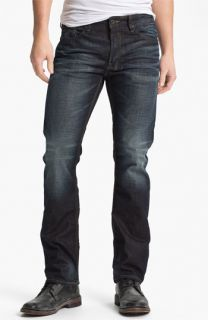 Buffalo Jeans Six Slim Straight Leg Jeans (Veined/Dirty) (Online Exclusive)