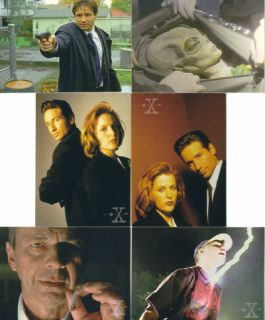 Series 3 Topps 1996 Complete Trading Card Set David Duchovny