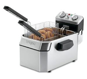 Waring WDF1000 10 lb Commercial Countertop Deep Fryer