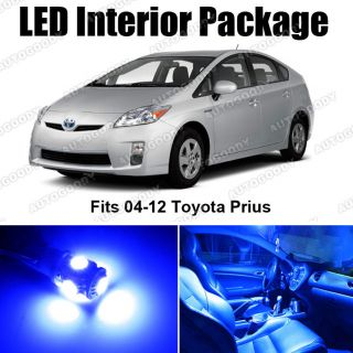 Blue LED Lights Interior Package Deal Toyota Prius