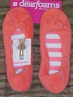 Dearfoams Slippers 3 Colors Indoor Outdoor 2 Sizes Large Exlarge Free