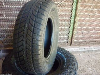 New 255 65 16 GT Radial Savero w T Winter Snow Tires
