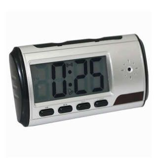digital clock hidden spy camera dvr usb motion alarm   $75.00 USD