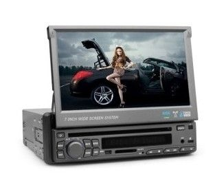 OEM 7 Single DIN Digital Car Stereo DVD Player TV Tuner Touch Screen