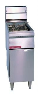 Floor Commercial Gas Deep Fryer Cecilware FMP40