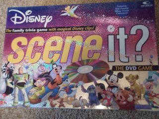 DISNEY SCENE IT? FAMILY DVD GAME features Pixar characters 2004
