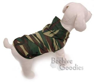 Sale Cute Camouflage Hoodie Dog Apparel Clothes Shirt