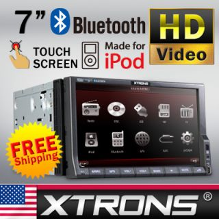 Dash Double Din Car DVD Player Radio Digital Touch Screen IPOD USB SD