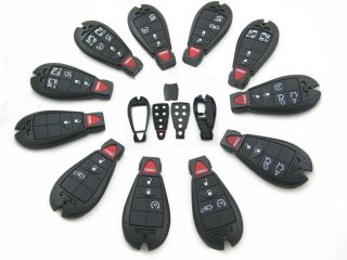 New Chrysler Dodge Jeep Keyless Entry Remote Key Fob Fobik Shell Case