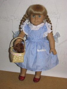 Very Cute Dorothy Dress Shoes for American Girl Dolls