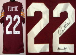 Doug Flutie Signed/ Autographed Boston College Jersey Heisman JSA