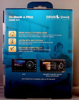 Sirius XADH1 XM Dock & Play Home Stereo Dock Docking Kit for Satellite