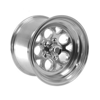 Summit Racing Polished Drag Thrust Wheel 15x10 5x4 5 Set of 2