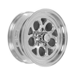 Summit Racing Polished Drag Thrust Wheel 15x7 5x4 75 Set of 4