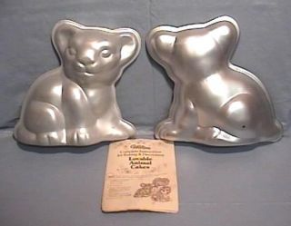 Wilton Stand Up 3D LION Cake Pan SIMBA CUB Tiger Pup w Orig