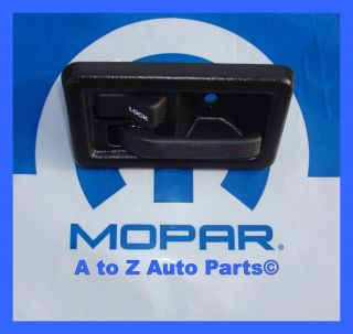 1990 2002 Jeep Wrangler Driver Side Interior Door Handle Mopar