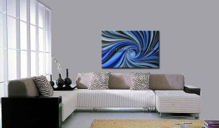 Oil Art, Original Abstract, modern Paintings blue Contemporary wallArt