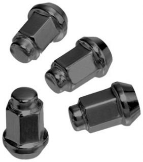 DOUGLAS WHEEL LUG NUT SET 16 PIECE 3/8 24 TAPERED BLACK POLARIS