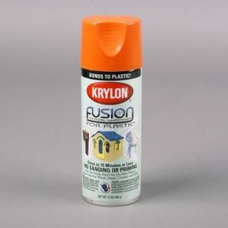 Dupli Color Paint Fusion Plastic Spray Paint Gloss Pumpkin Safety