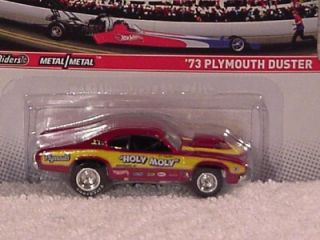 2011   HOT WHEELS   NHRA DRAG RACING CARS   1973 PLYMOUTH DUSTER