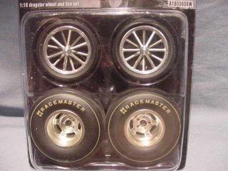 Pure Hell Wheel Tire Set Altered Drag Racing Acme Racemaster NHRA 1 18