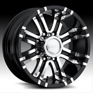 Eagle Alloys 197 Series Super Finish Black Wheel 18x9 8x170mm