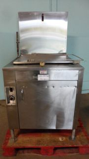 Stainless Steel Commercial  Avalon  Natural Gas Donut Fryer