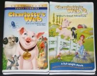 Charlottes Web 1 2 Wilburs Great Adventure VHS Set